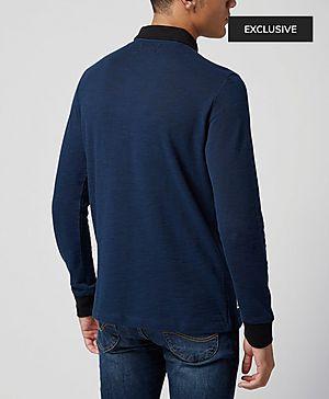 Original Penguin Kassel Long Sleeved Polo Shirt - Exclusive