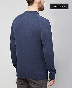 Original Penguin Astura Long Sleeve Knit Polo - Exclusive