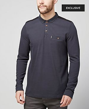 One True Saxon Eldon Dark Polo Shirt - Exclusive