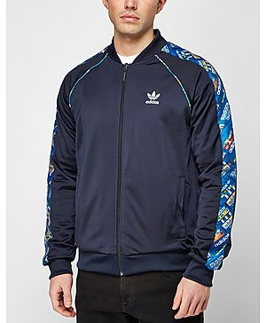 adidas Originals Trefoil Shoebox Reversible Track Top