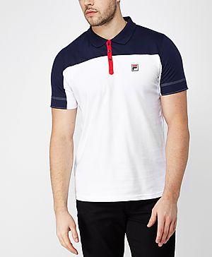 Fila Corsair Colourblock Polo Shirt