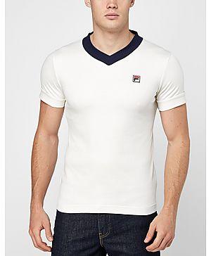Fila Carrack V-Neck T-Shirt