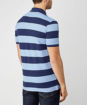 GANT Pique Stripe Polo Shirt