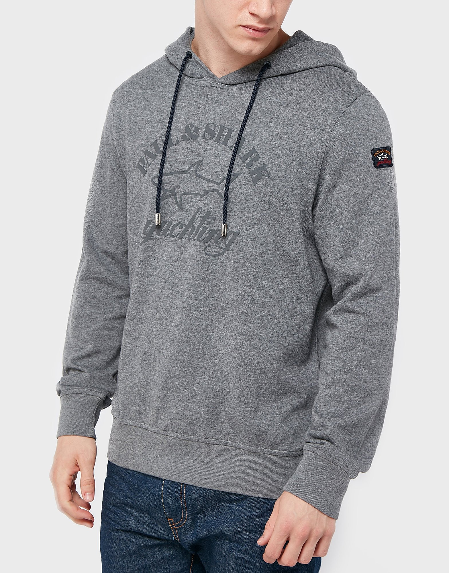 Paul and Shark Large Logo Hoody