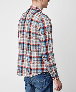Lee Long Sleeve Check Shirt