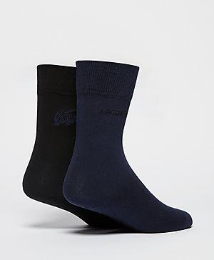 Lacoste 2 Pack Logo Socks