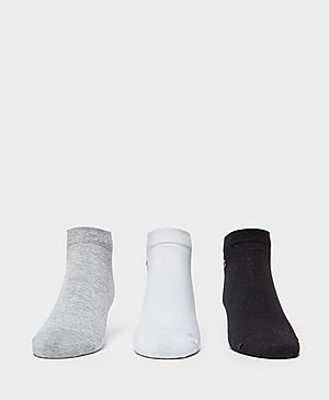 Lacoste 3 Pack Trainer Socks