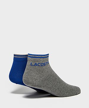 Lacoste 2 Pack Ankle Socks