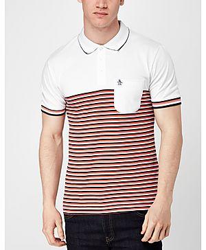 Original Penguin Ryda Stripe Polo Shirt