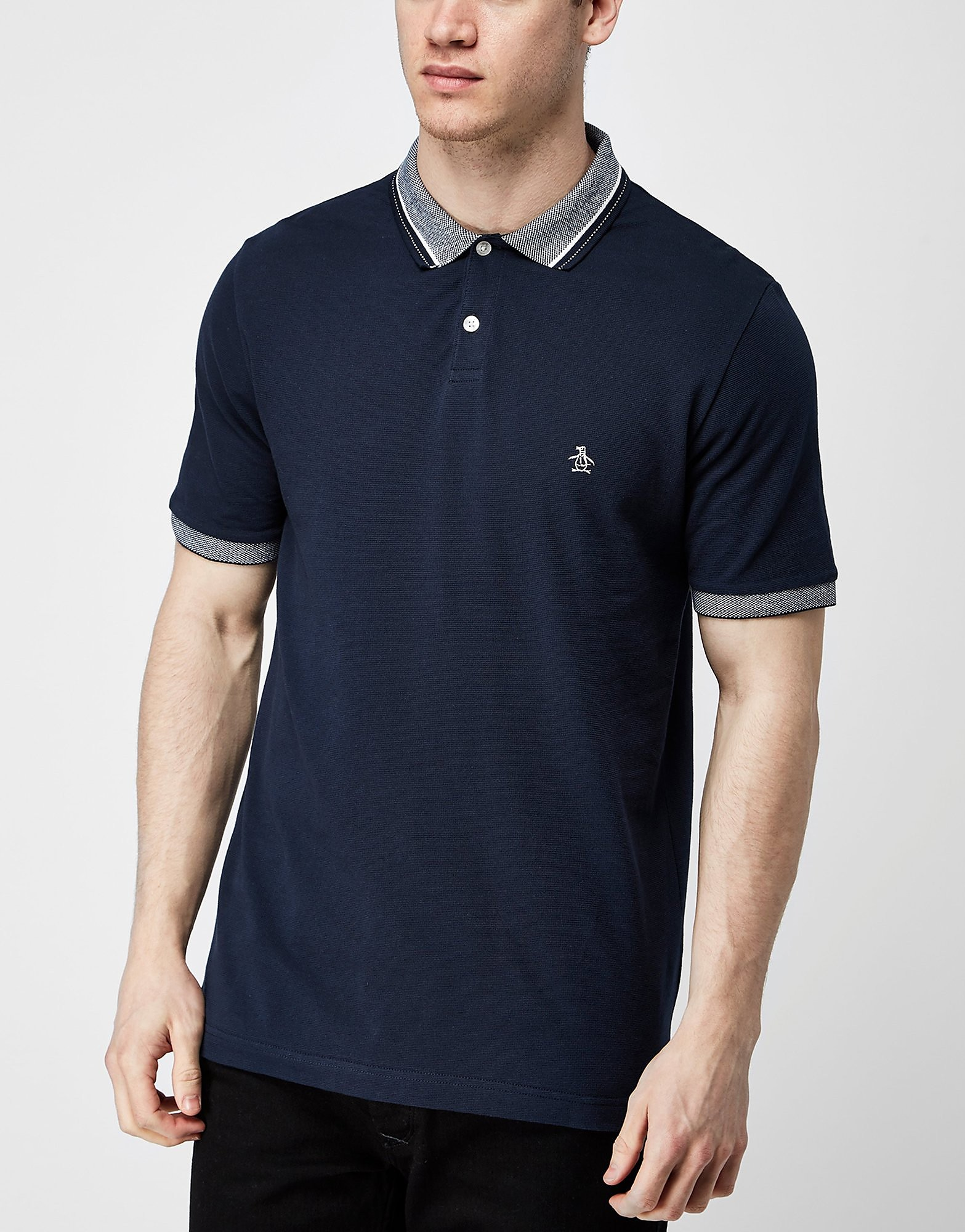 Original Penguin Stairway Pique Polo Shirt - Exclusive