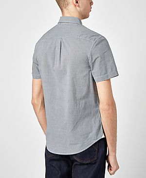 Original Penguin Convex Microgingham Shirt