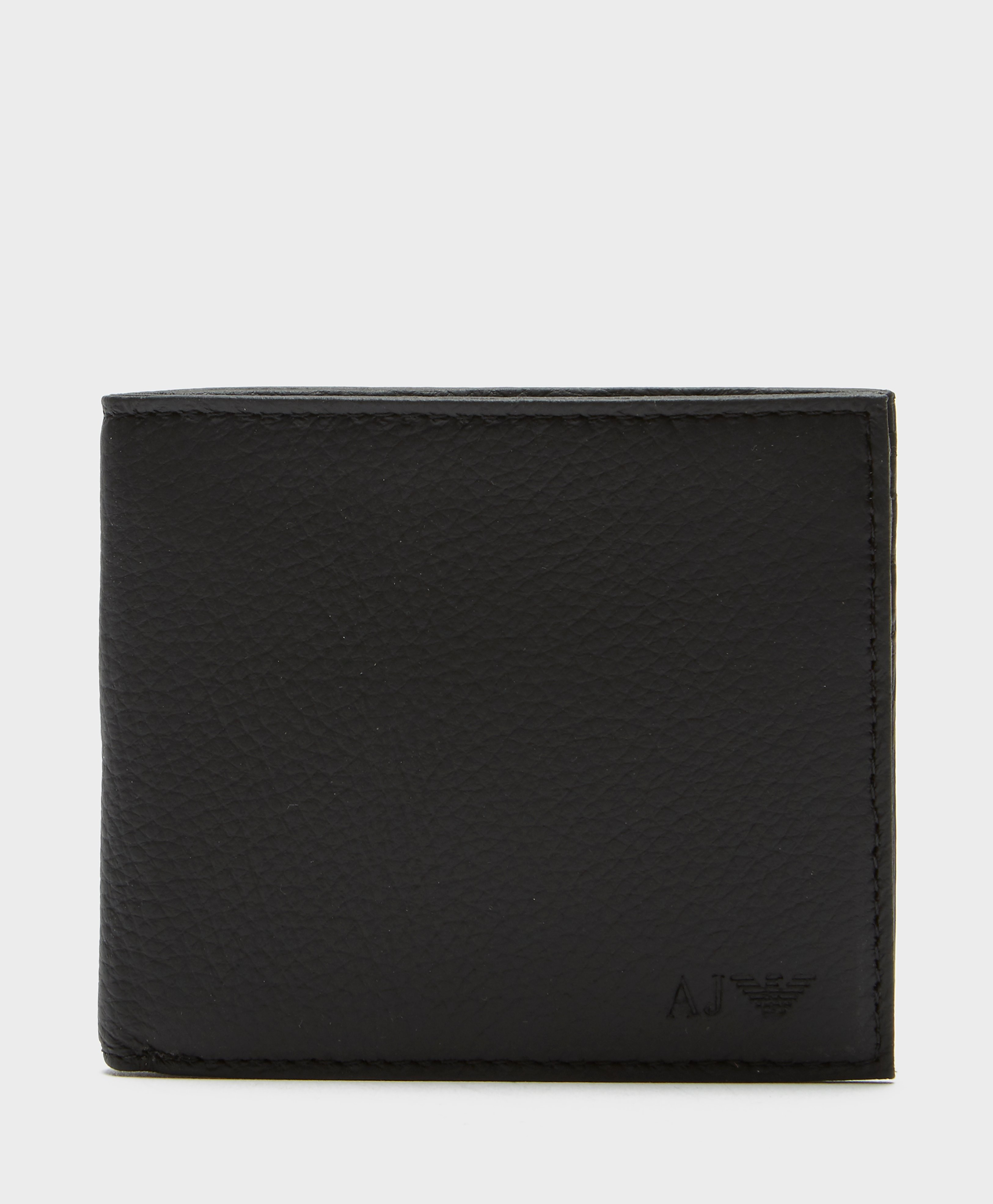 Armani Jeans Bi-Fold Leather Wallet