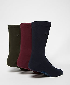 Levis Three Pack Sock Set