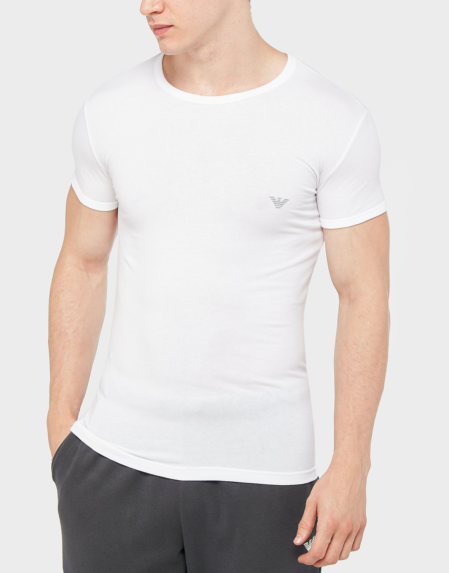 Emporio Armani Back Eagle Short Sleeve T-Shirt