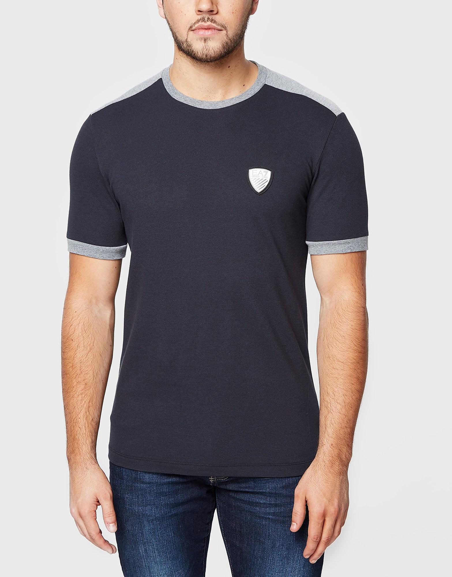 Emporio Armani EA7 Pique Ringer T-Shirt