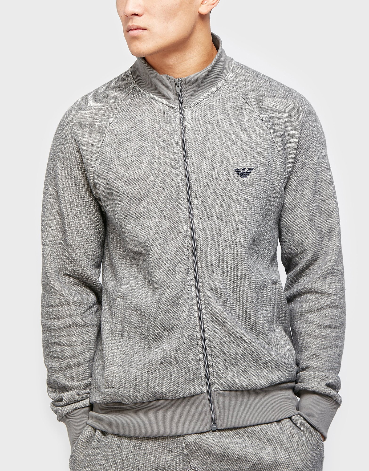 Emporio Armani French Terry Track Top