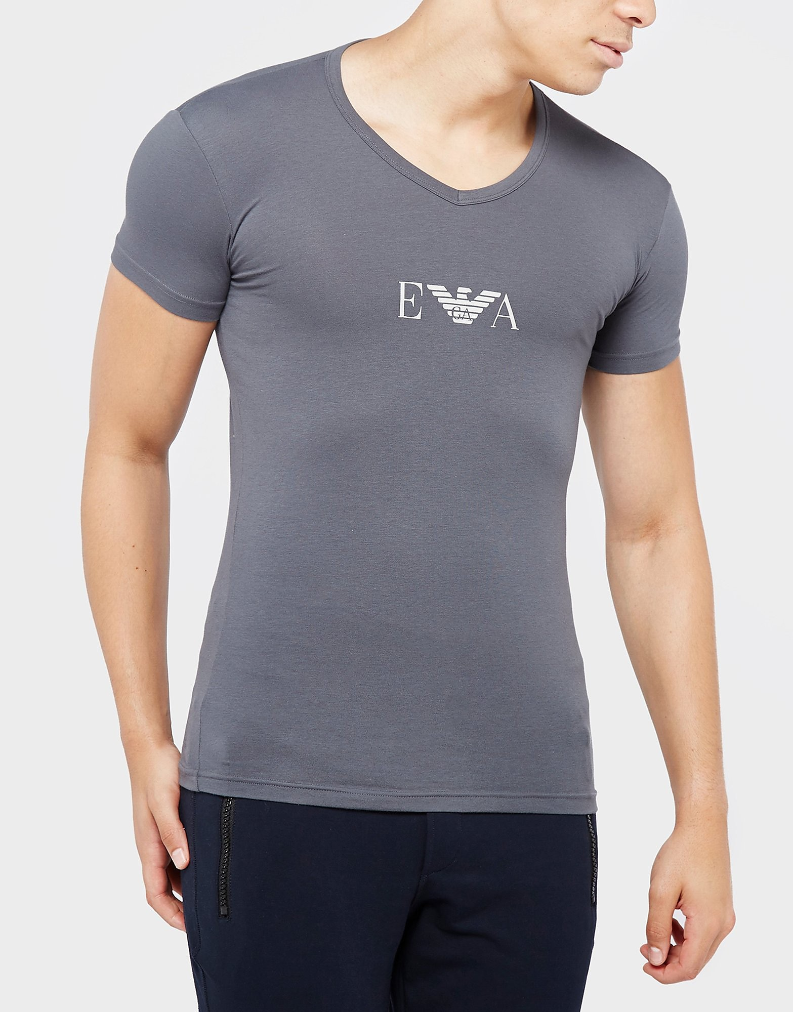 Emporio Armani EVA Logo T-Shirt