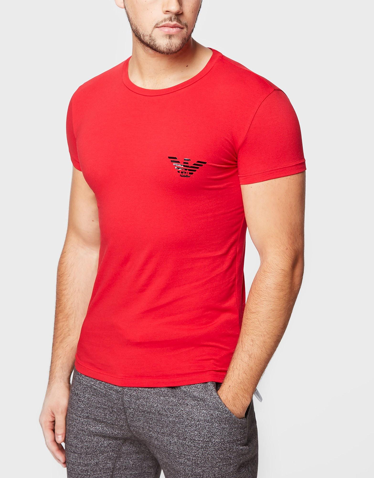 Emporio Armani Shine Eagle T-Shirt