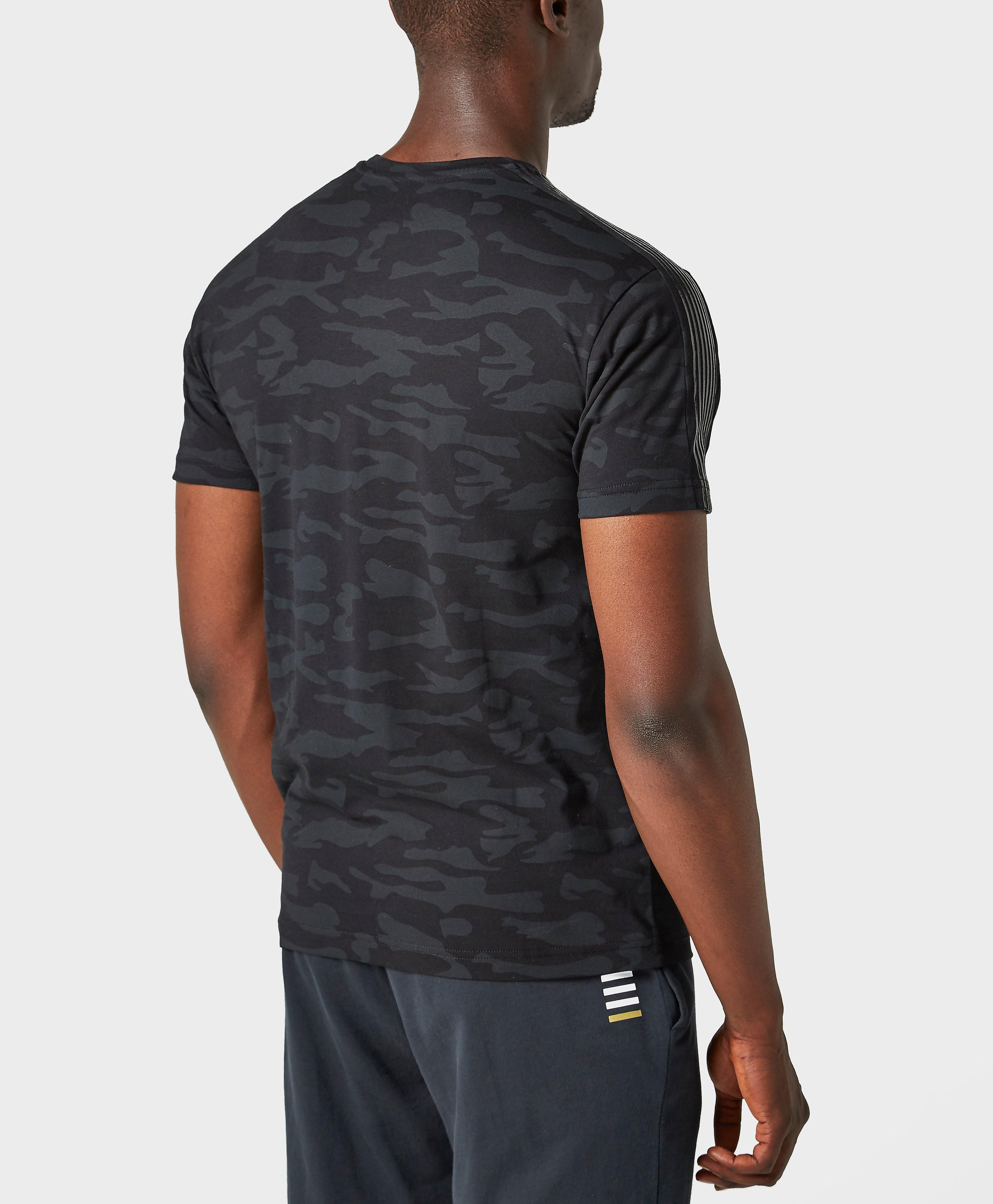 Emporio Armani EA7 Camo Crew Neck T-Shirt