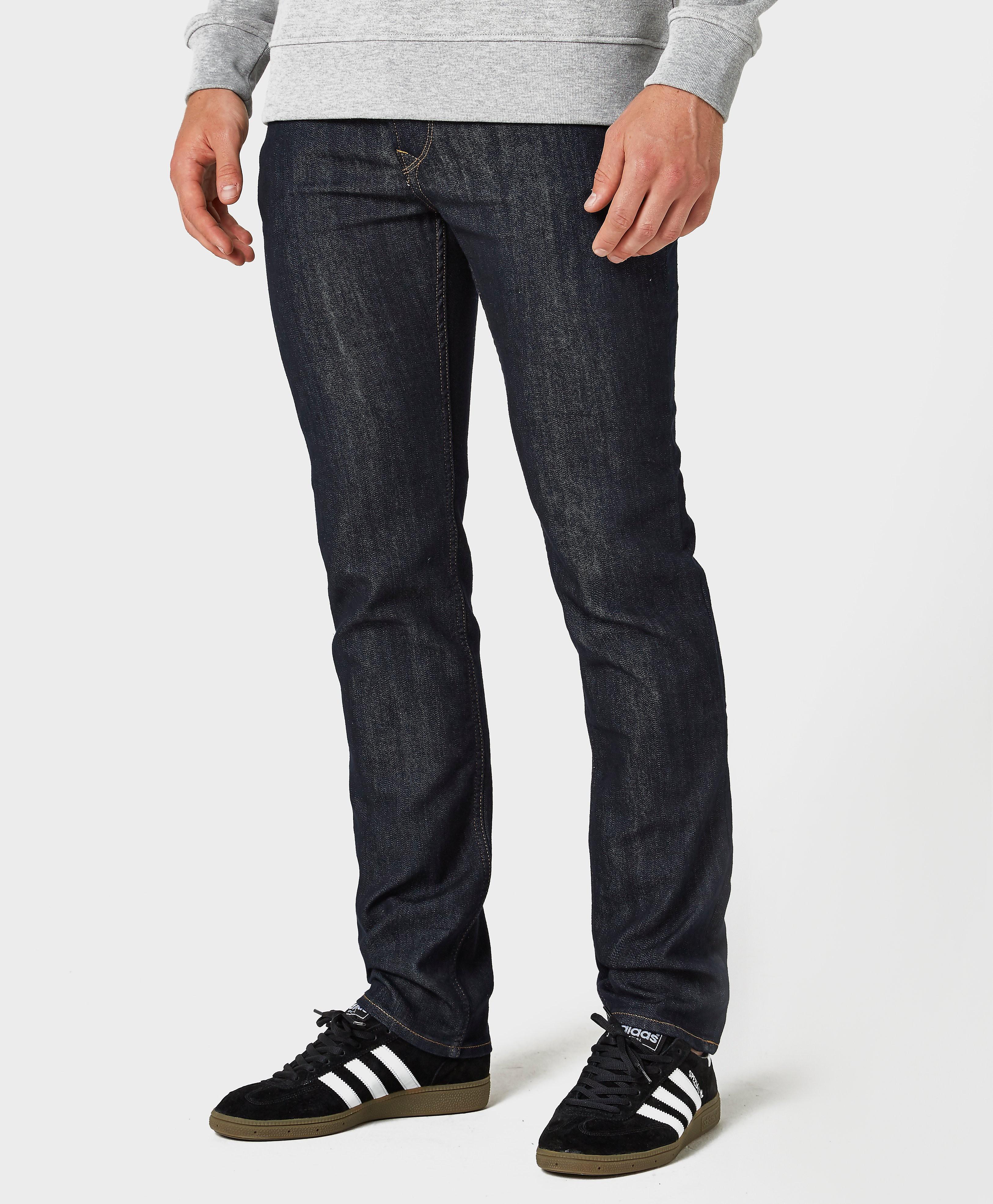 Lee Rider Regular Waist Slim Leg Jeans 'Rinse'