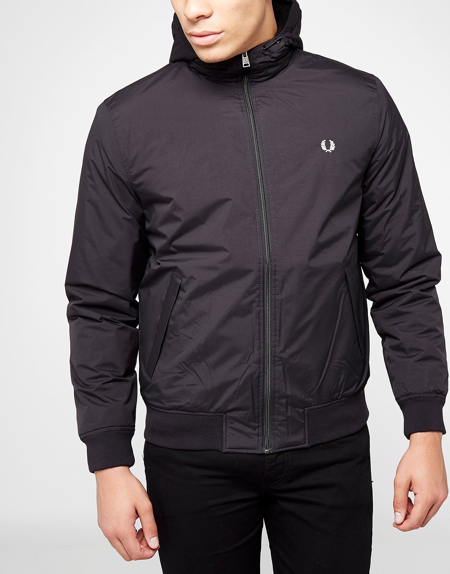 Fred Perry Hooded Brentham Lightweight Jacket - Exclusive