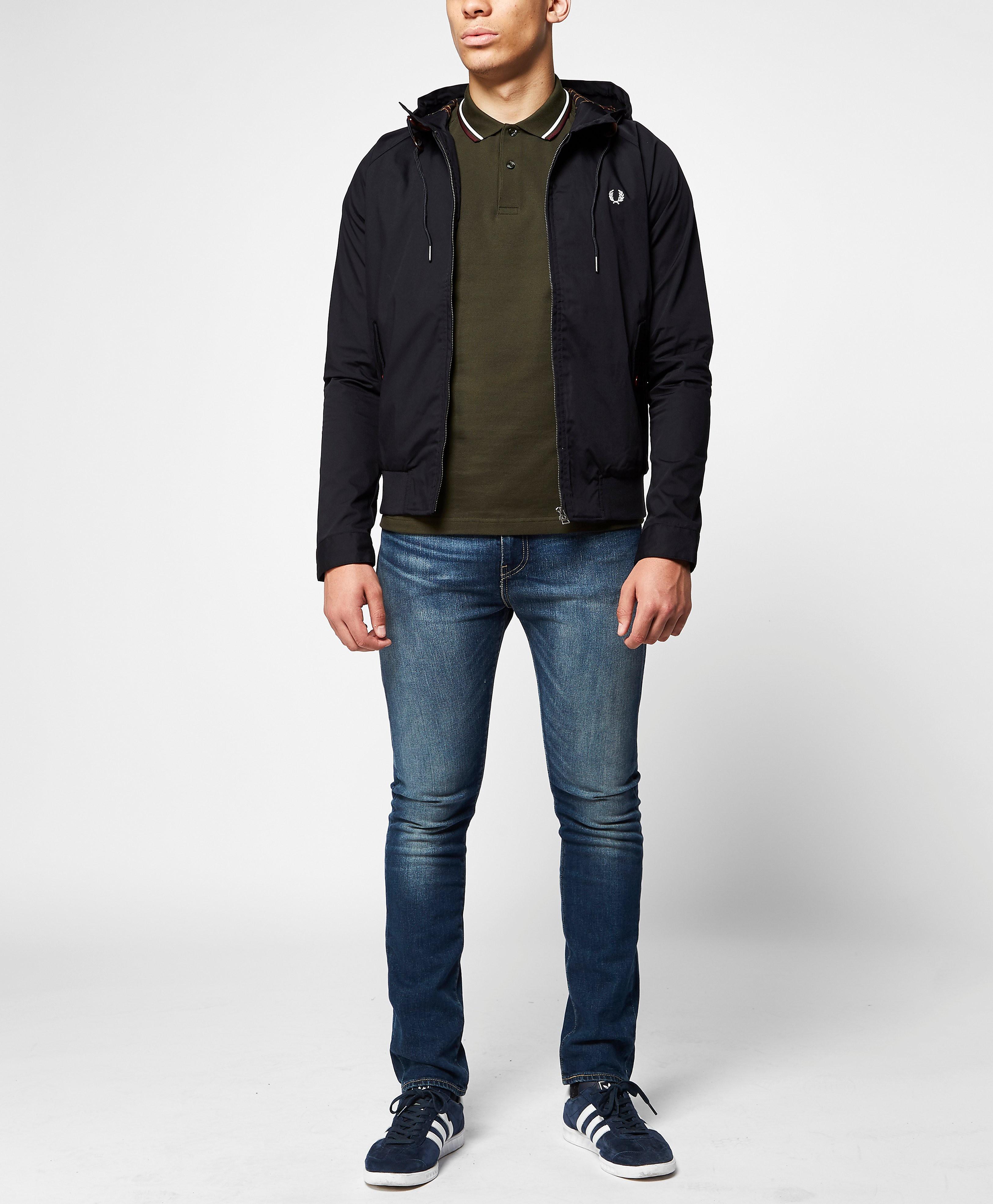Fred Perry Hooded Harrington Jacket
