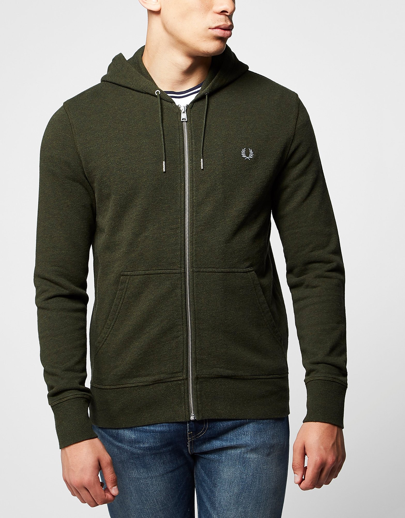 Fred Perry Loop Back Full Zip Hoody