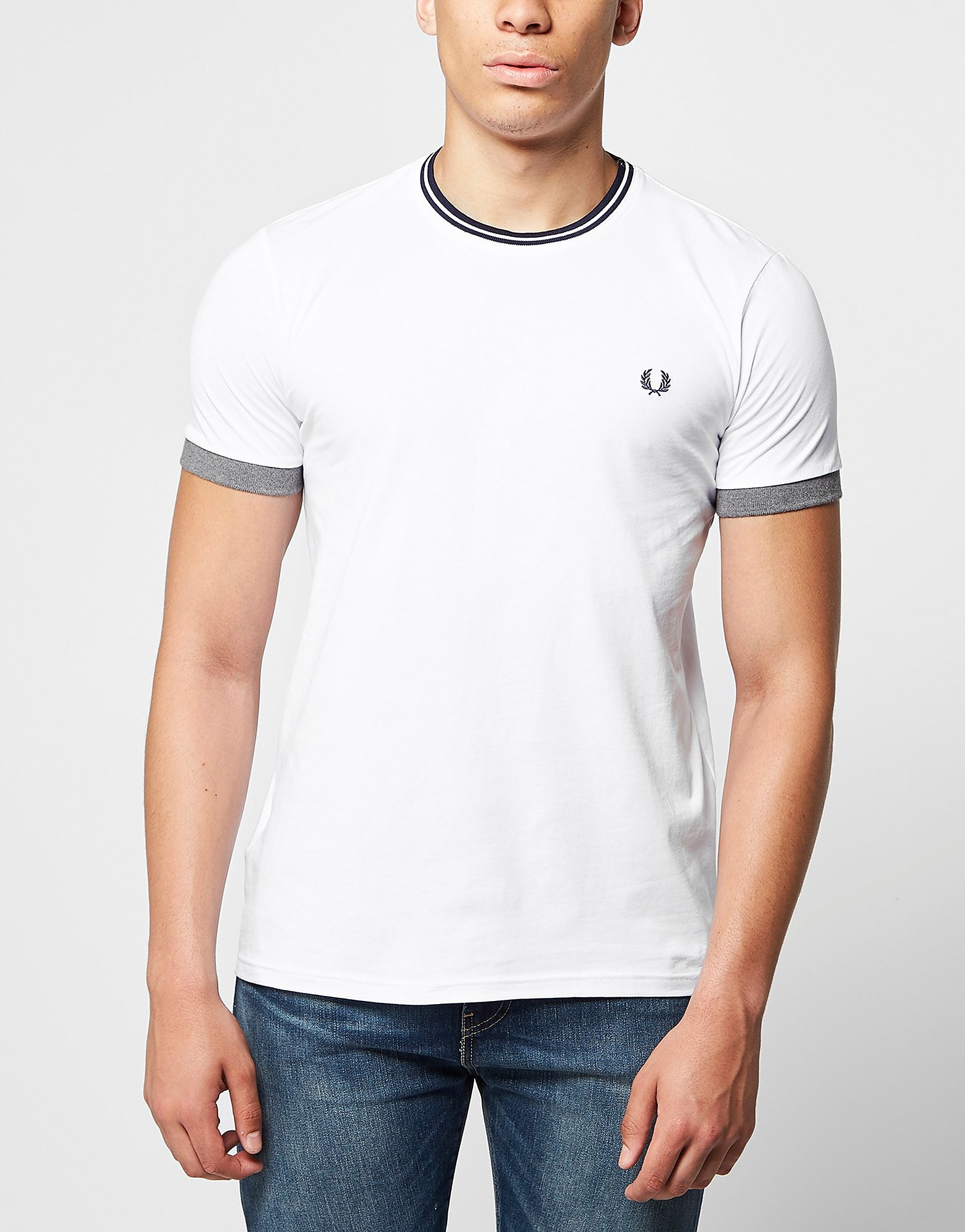 Fred Perry Tip Ringer T-Shirt