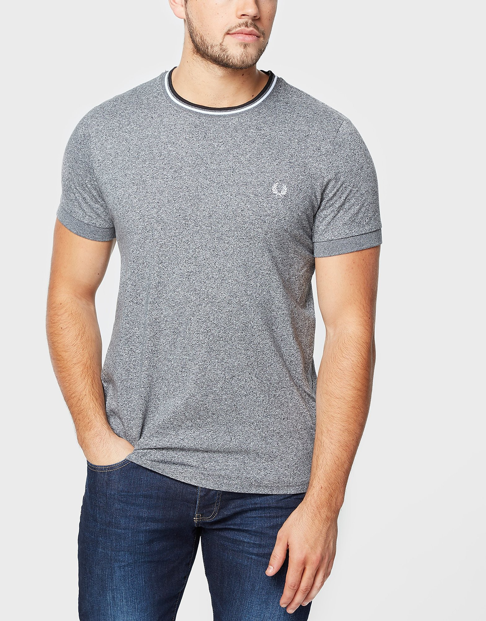 Fred Perry Tip Ringer T-Shirt - Exclusive