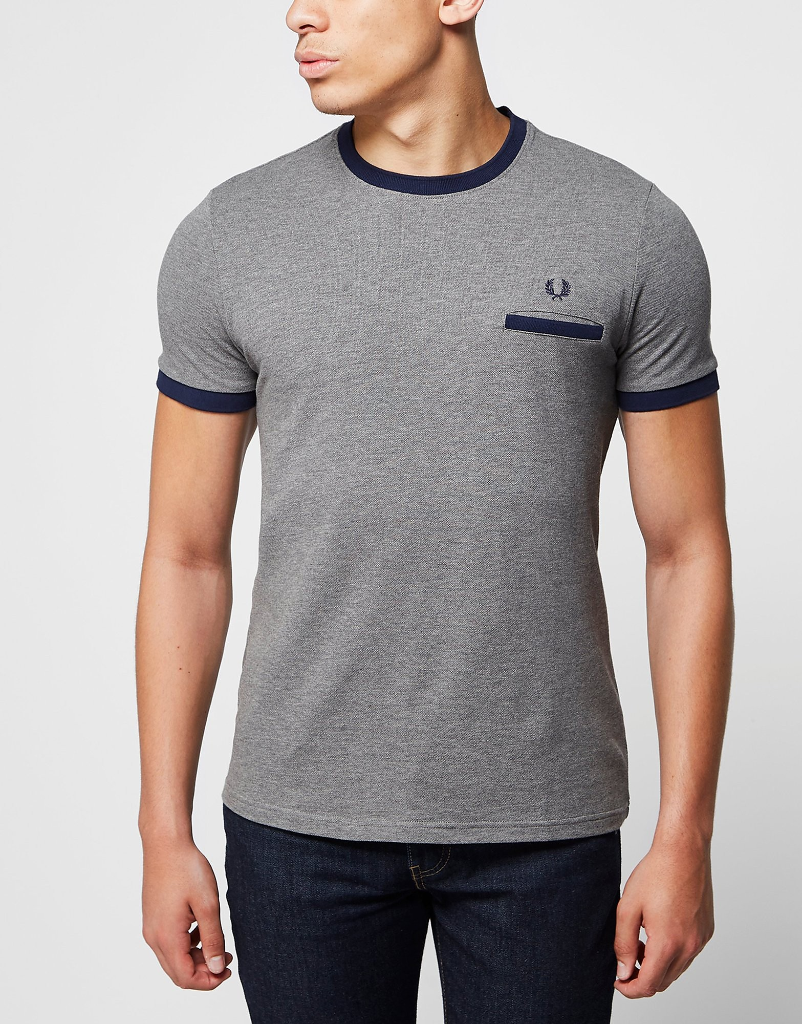 Fred Perry Pique Ringer T-Shirt