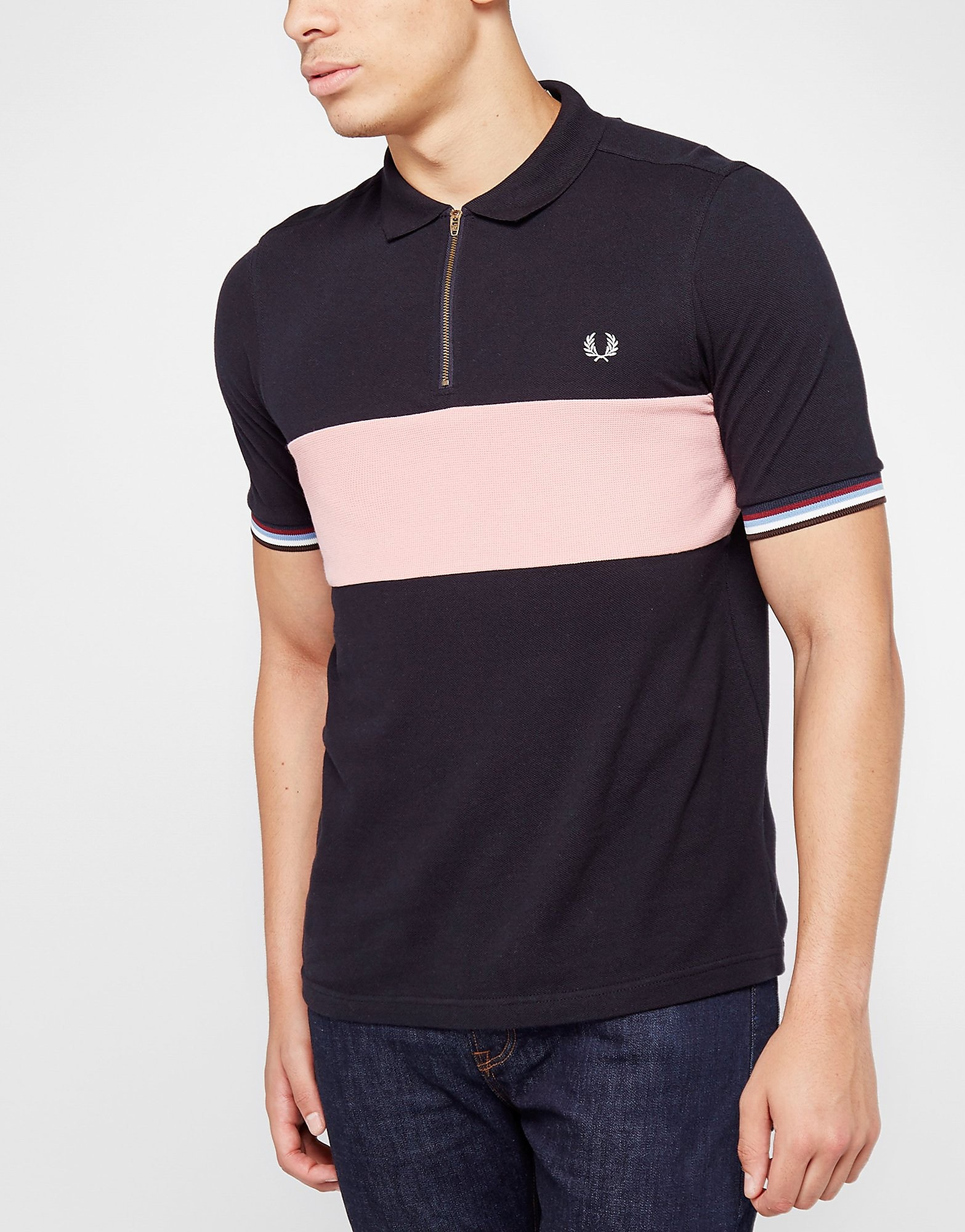Fred Perry Pique Panel Polo Shirt