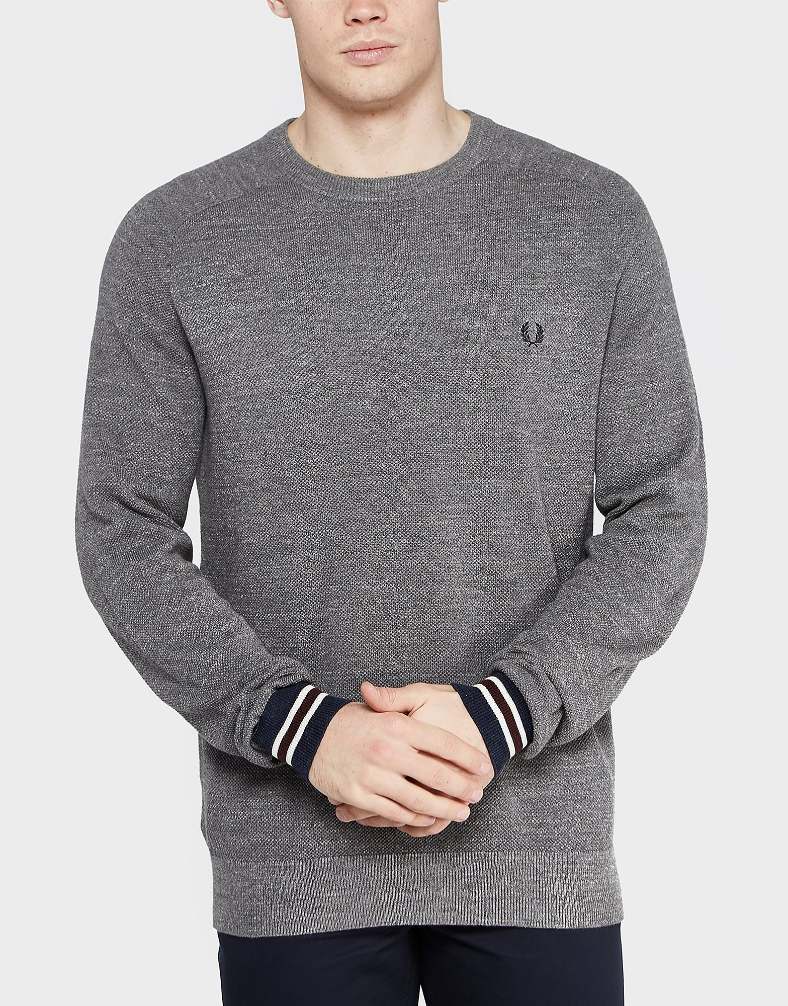 Fred Perry Knitted Pique Jumper