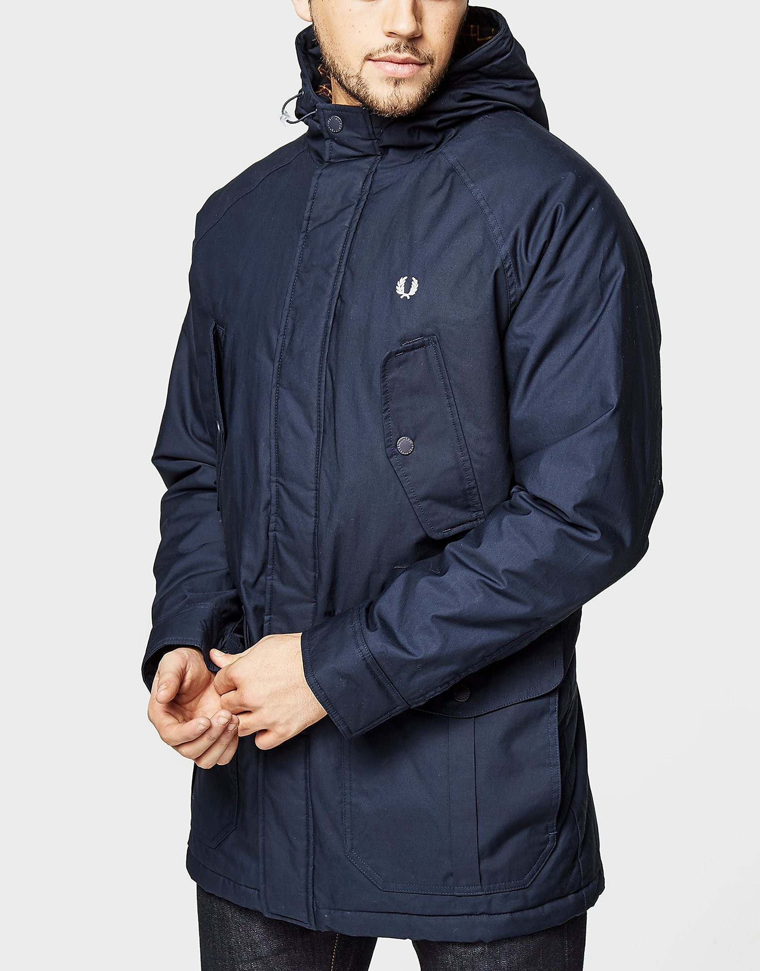 Fred Perry Portwood Padded Jacket  Navy Navy