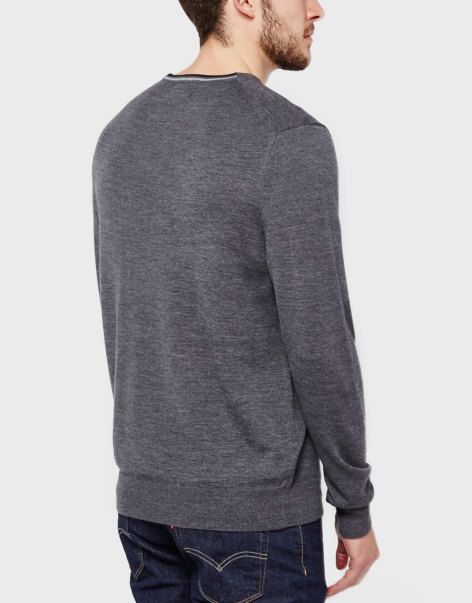 Fred Perry Merino Crew Knit