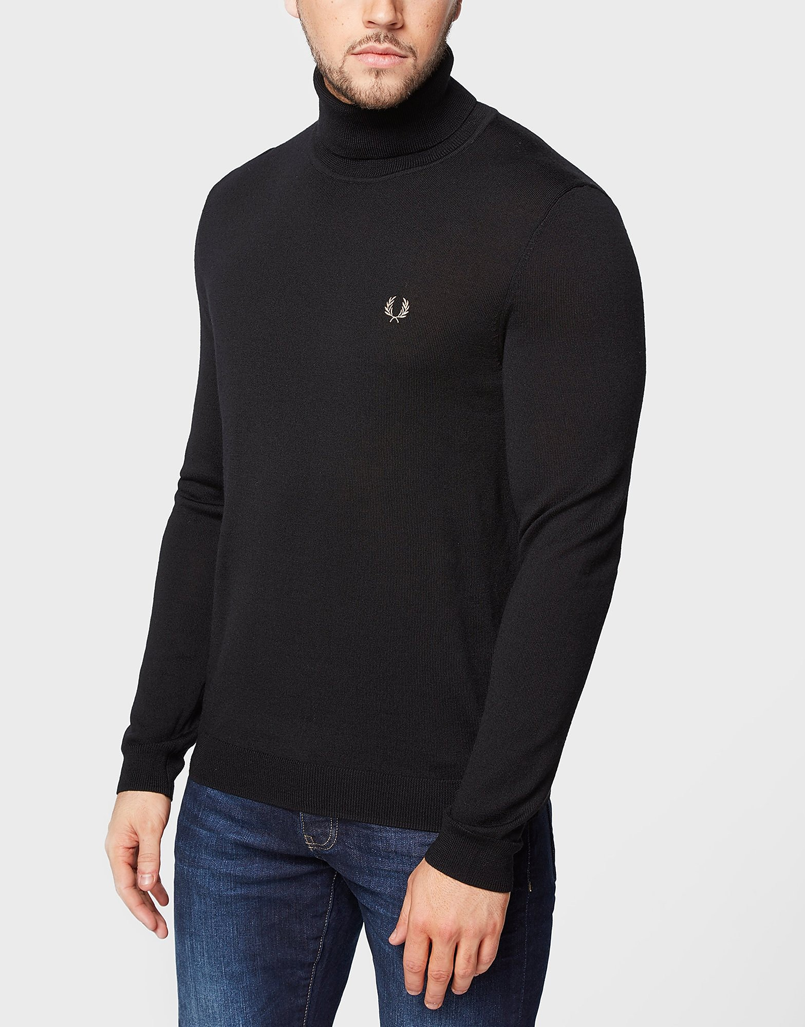 Fred Perry Roll-Neck Knit