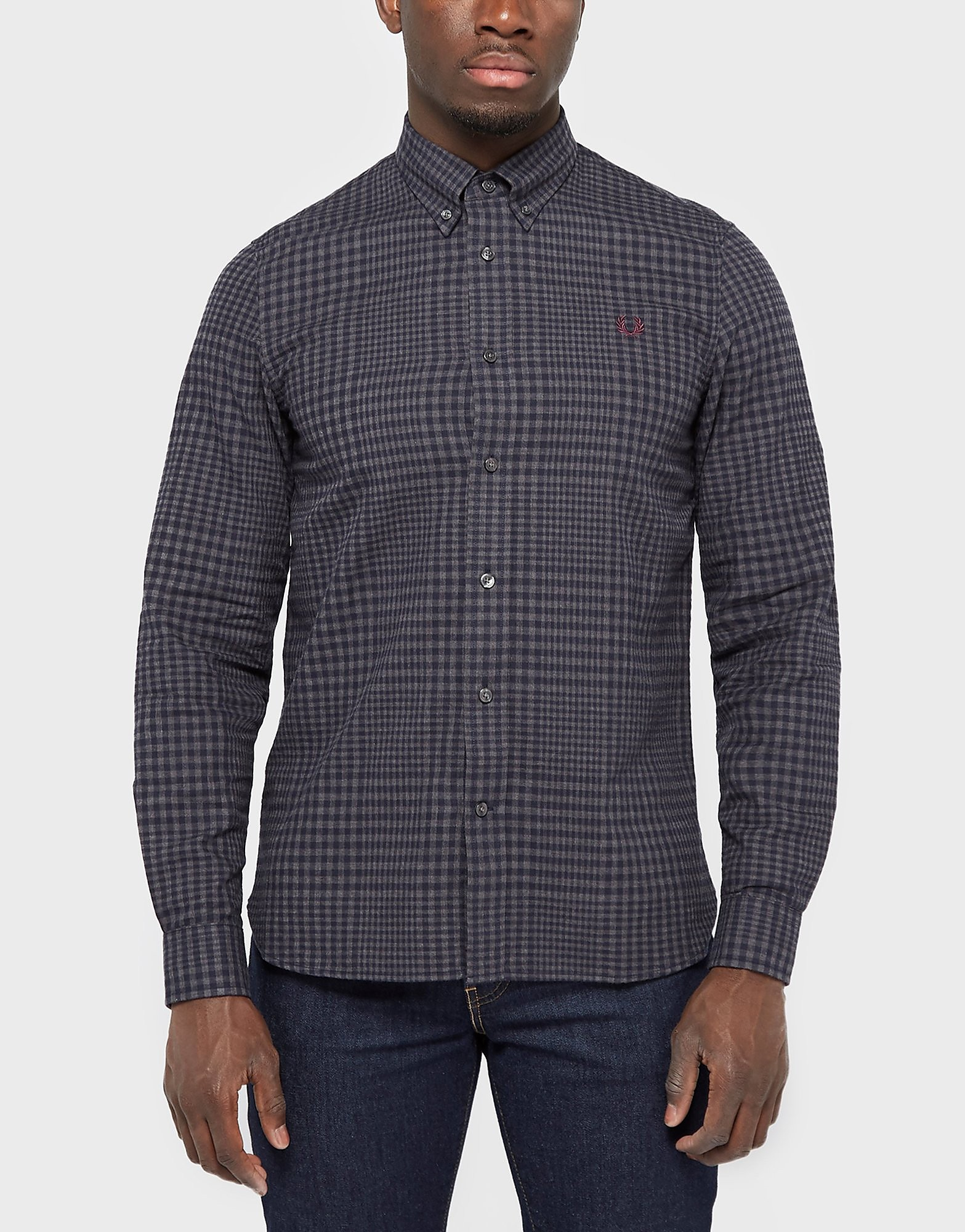 Fred Perry Checked Twill Shirt