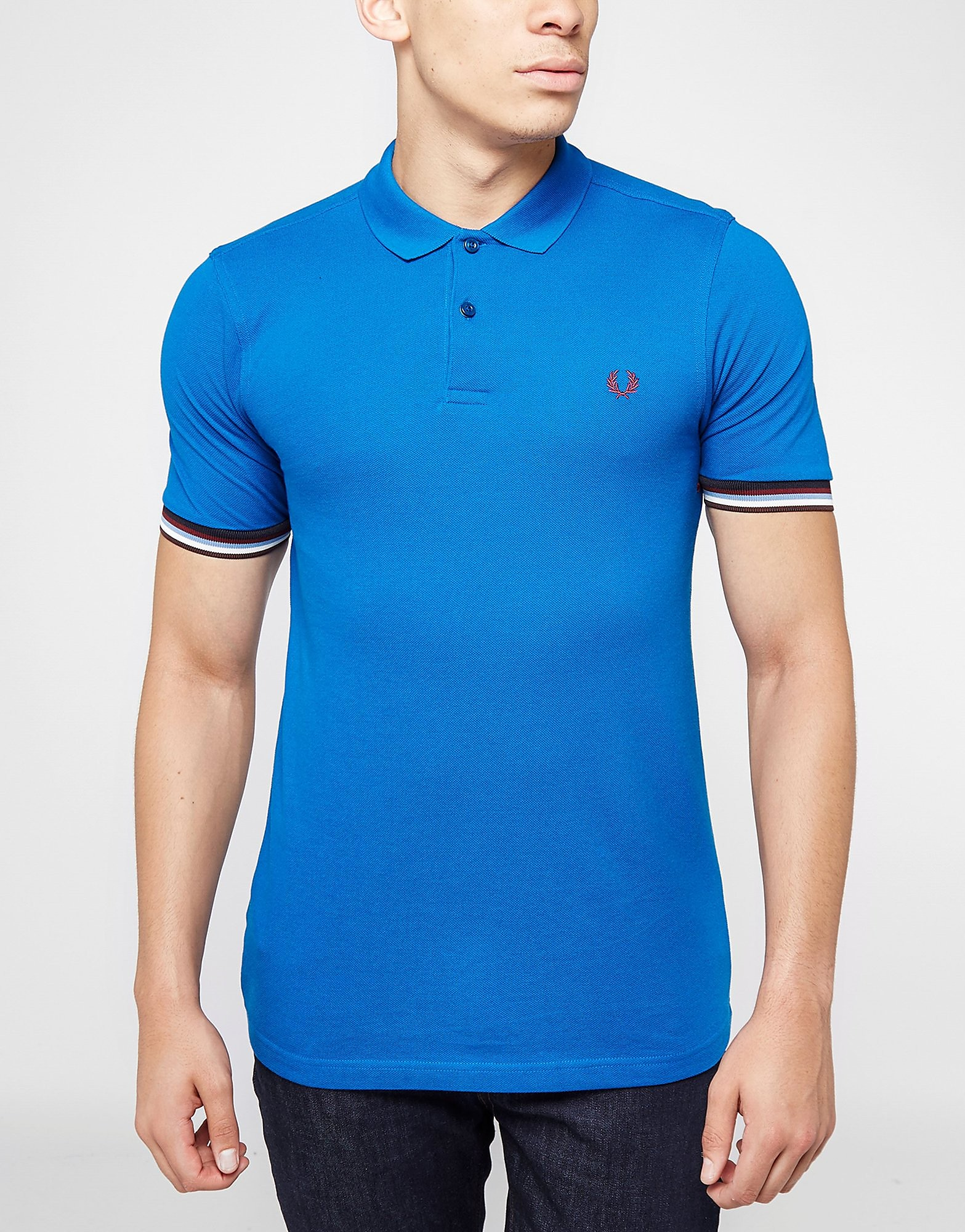 Fred Perry Tipped Cuffs Serv Polo Shirt