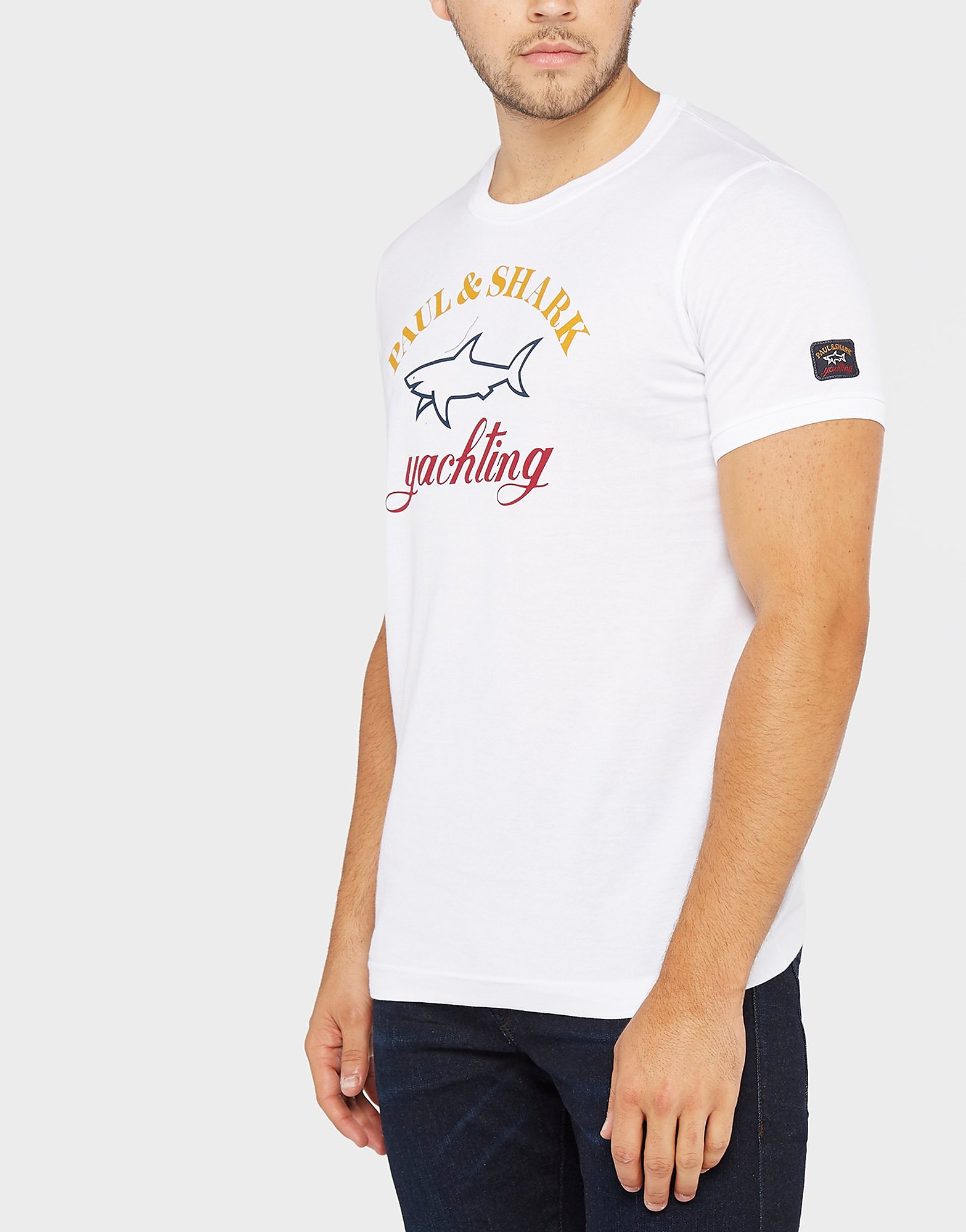 Paul and Shark Logo T-Shirt