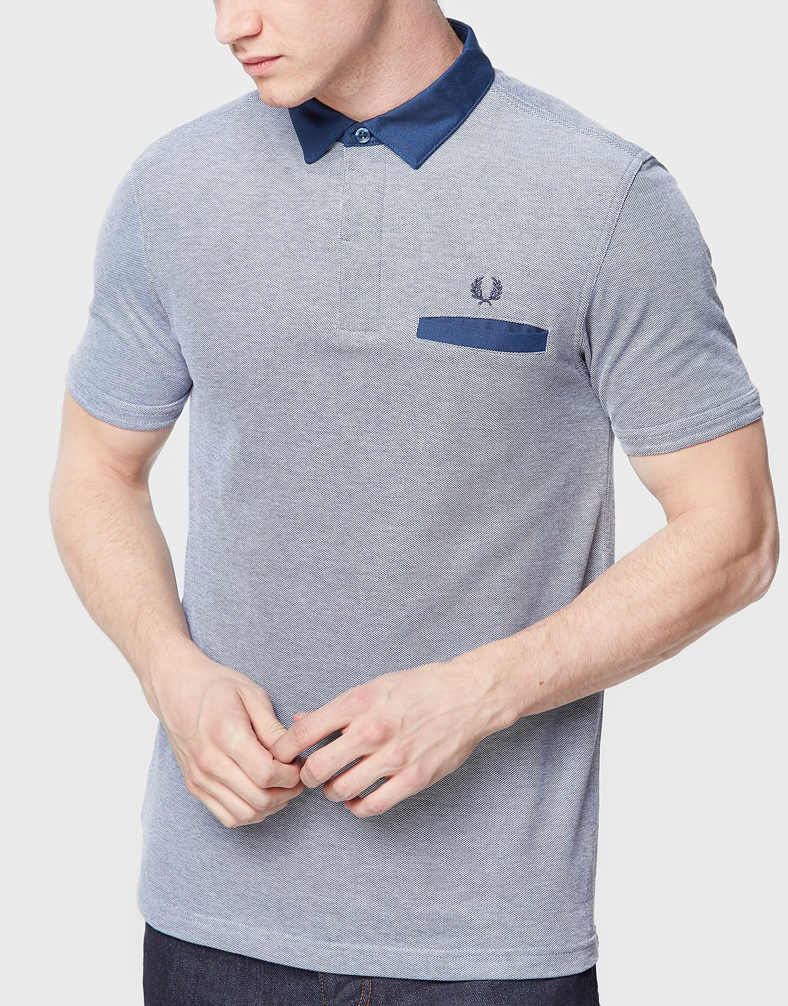 Fred Perry Oxford Trim Collar Polo Shirt
