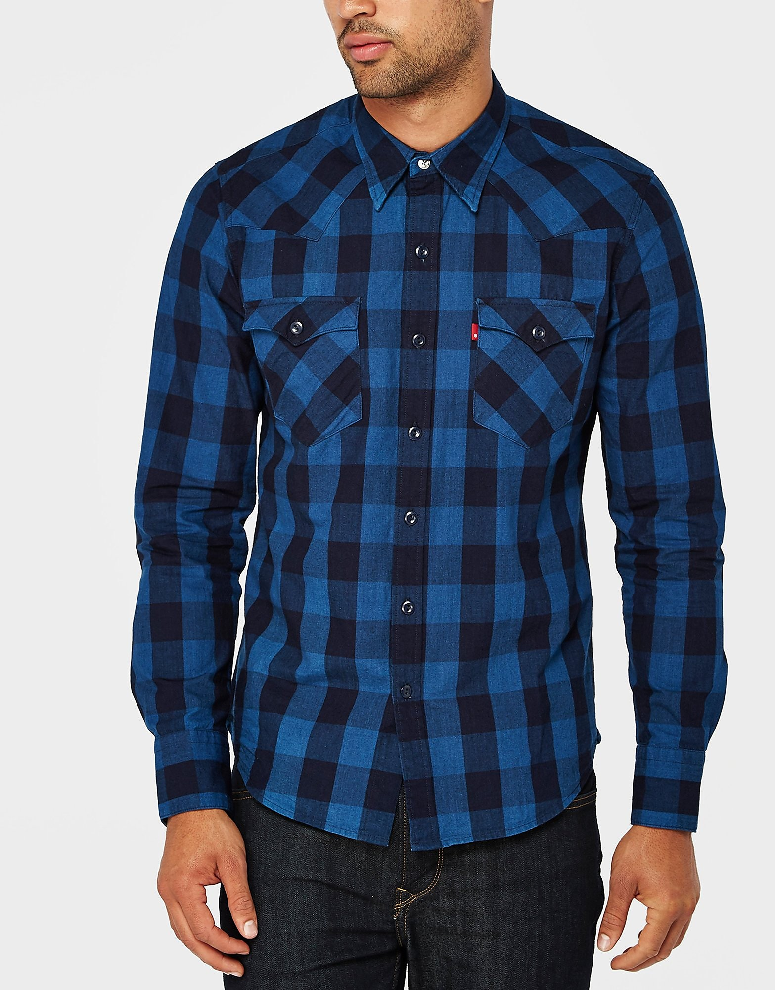 Levis Barstow Checkered Shirt