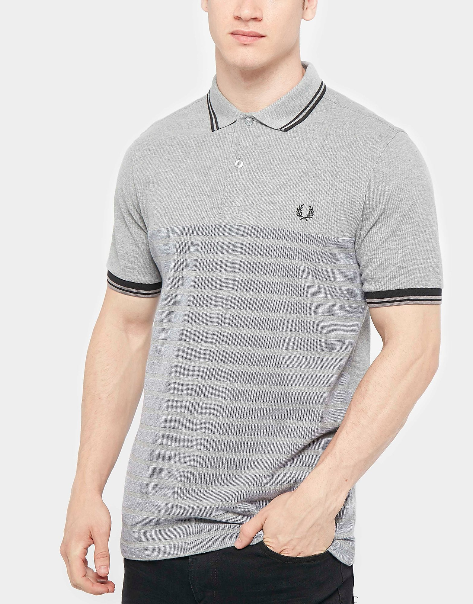Fred Perry Oxford Striped Polo Shirt - Exclusive