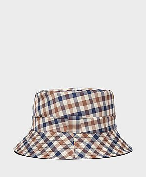 Aquascutum Reversible House Check Bucket Hat