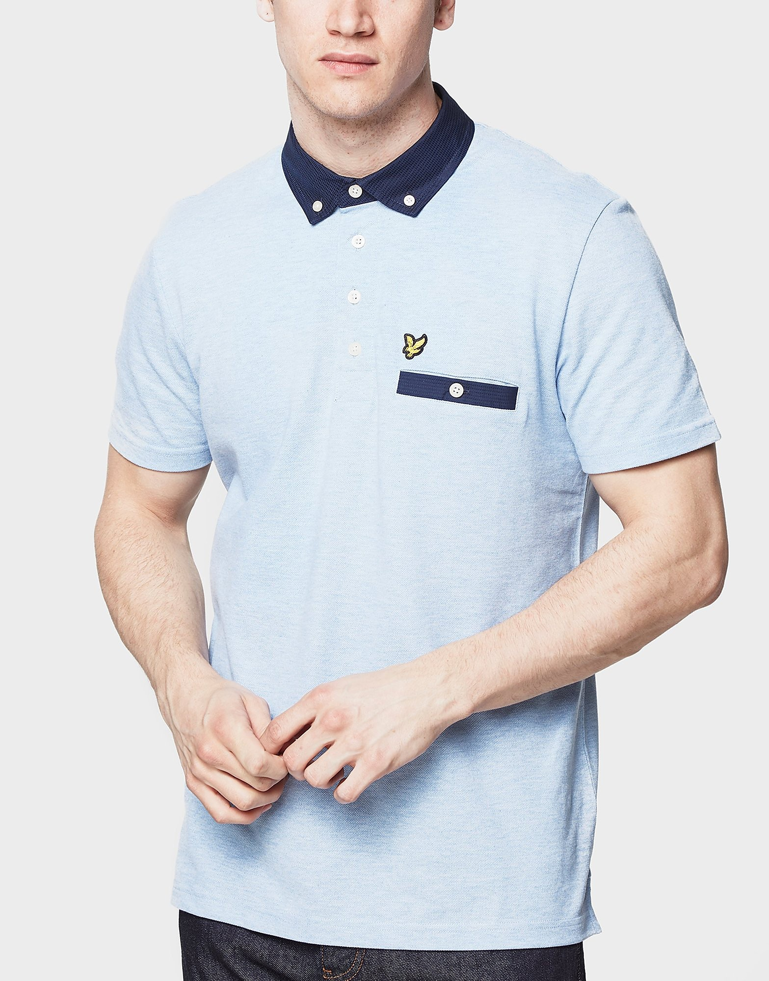 Lyle & Scott Pin Dot Woven Collar - Exclusive