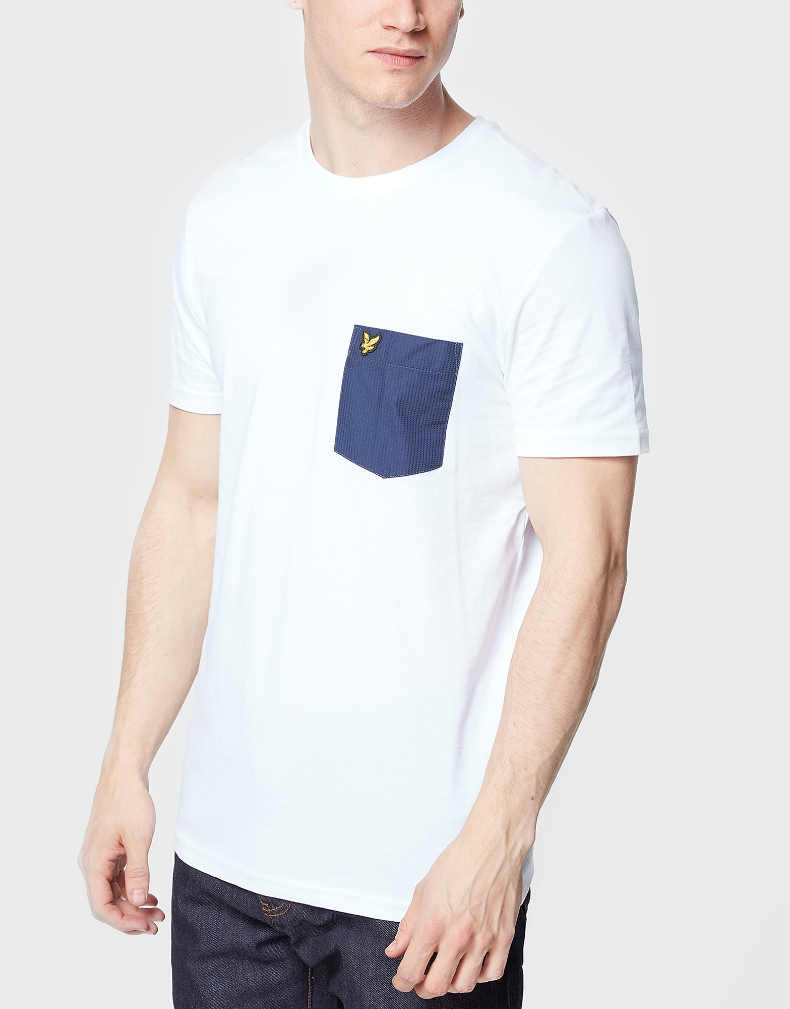 Lyle & Scott Pin Dot Pocket T-Shirt - Exclusive
