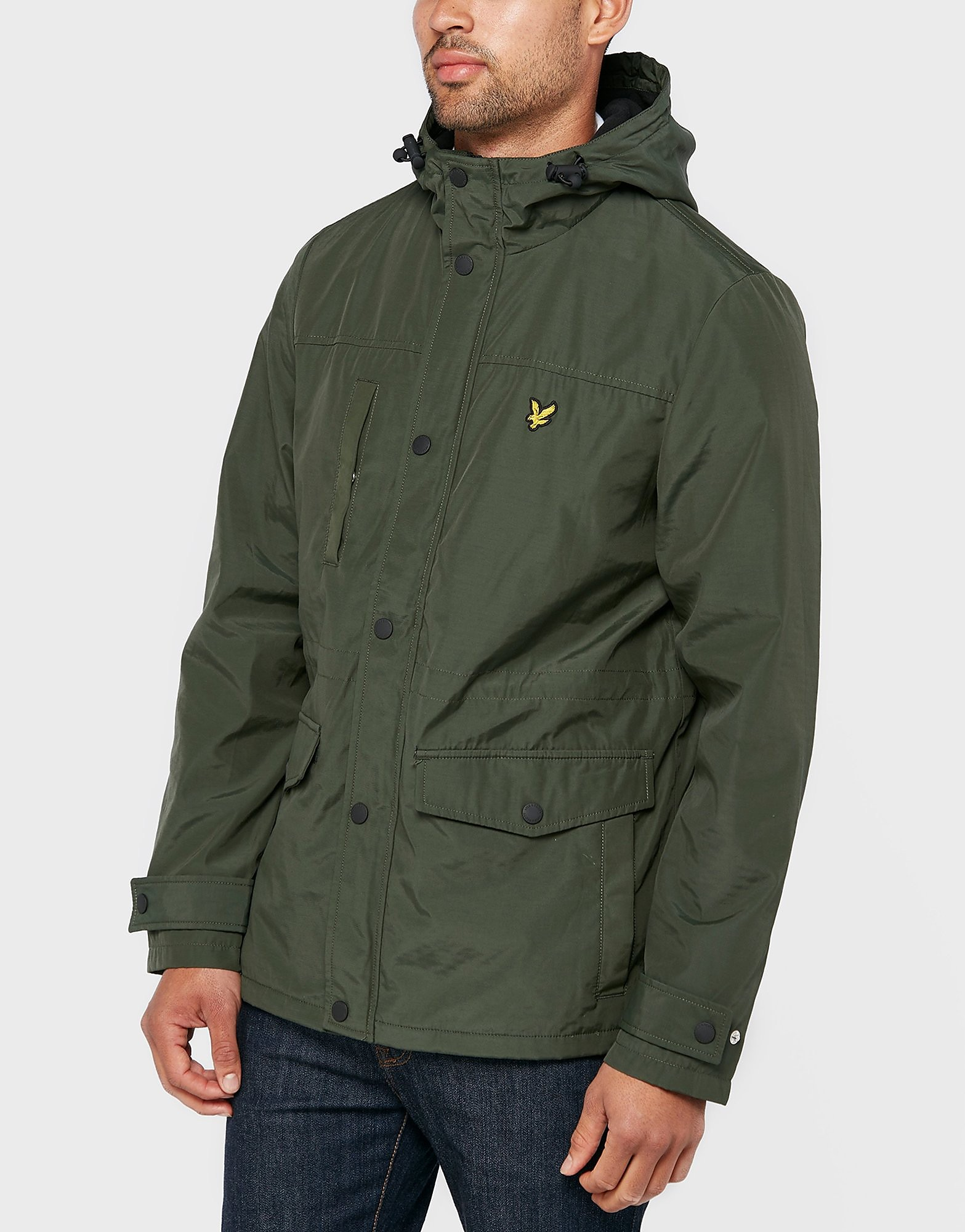 Lyle & Scott Fleece Line Lightweight Jacket