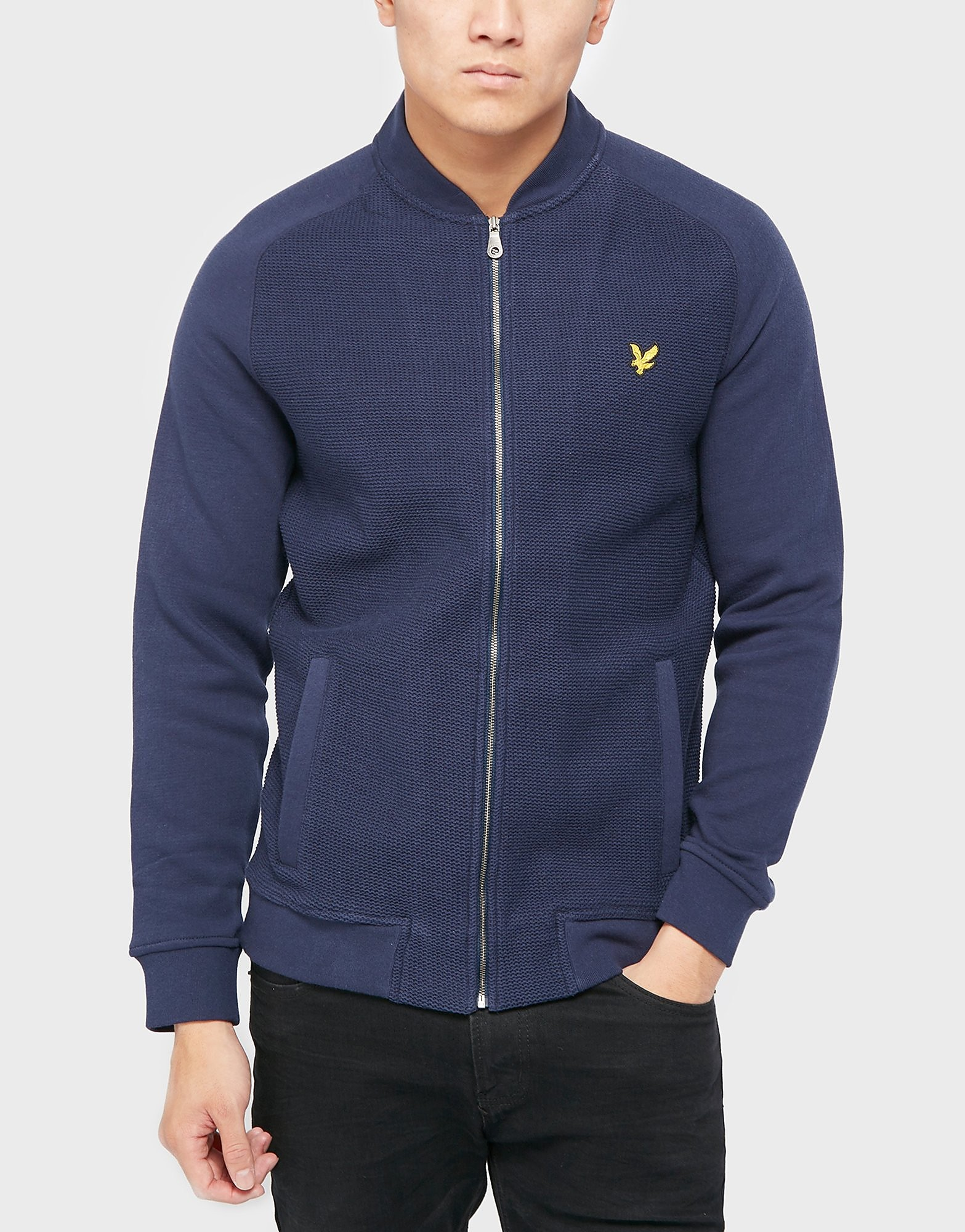 Lyle & Scott Full-Zip Bomber Jacket