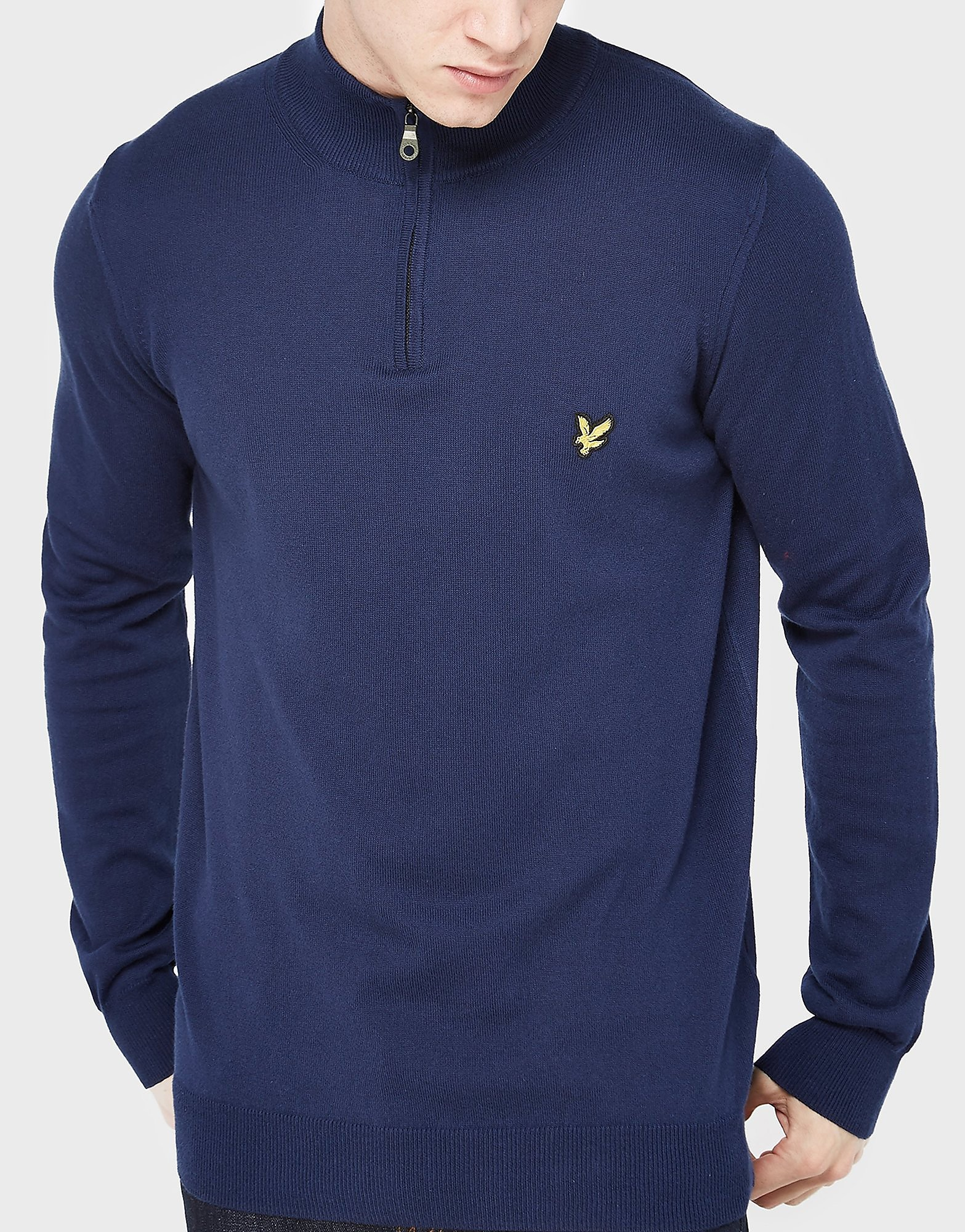 Lyle & Scott Merino Quarter-Zip Jumper
