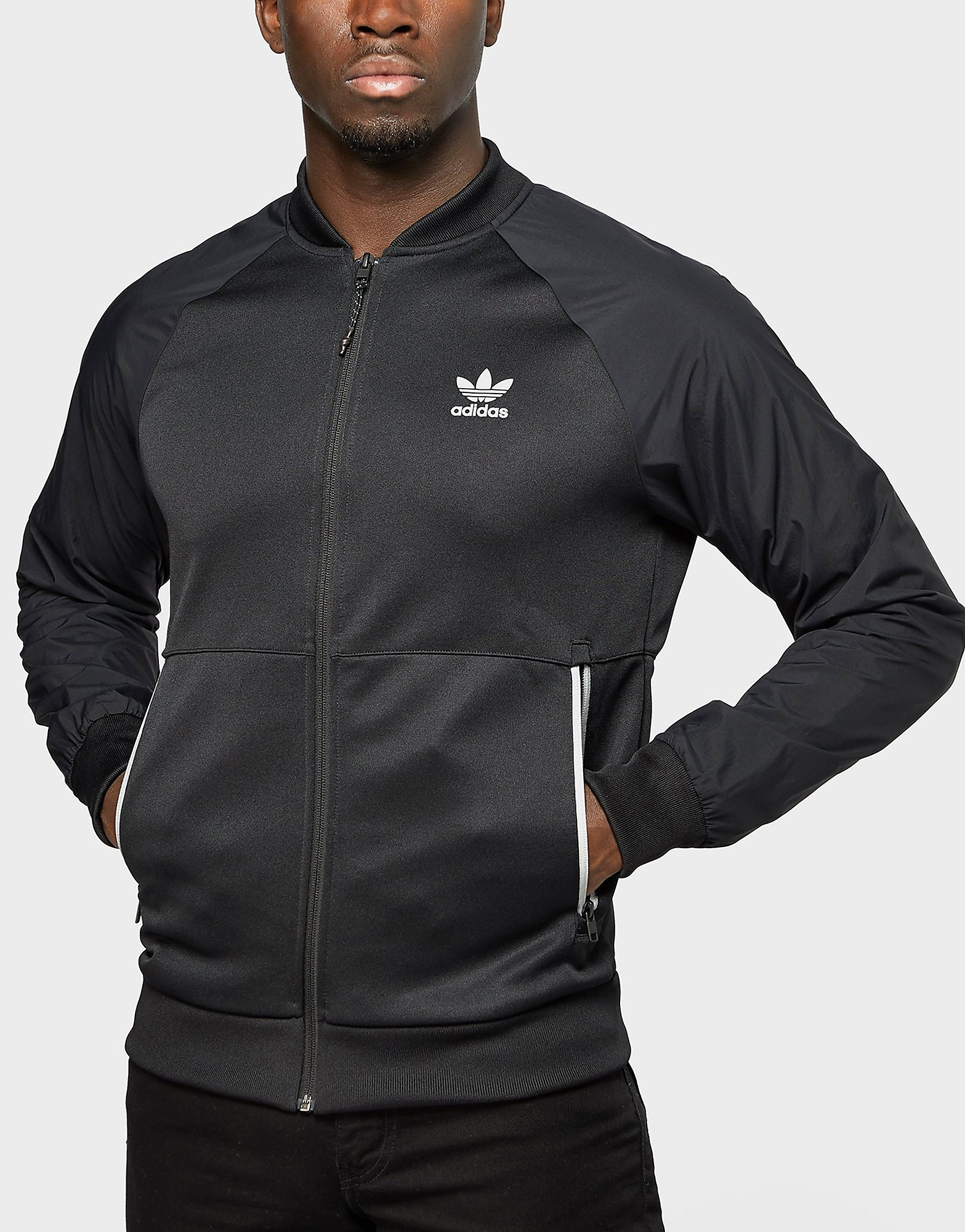 adidas Originals Sport Luxe Knit Track Top