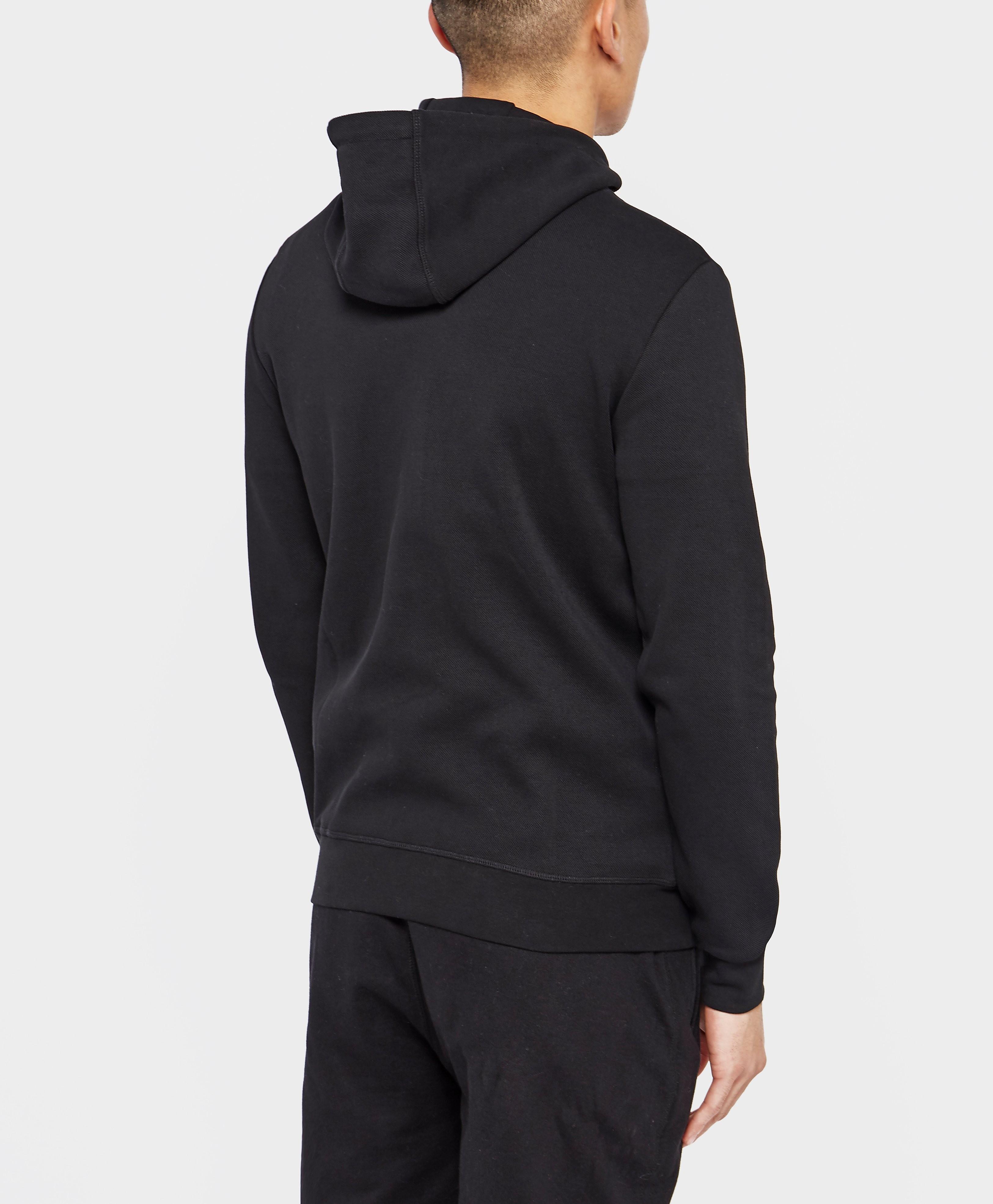 Antony Morato Plaque Full-Zip Hoodie