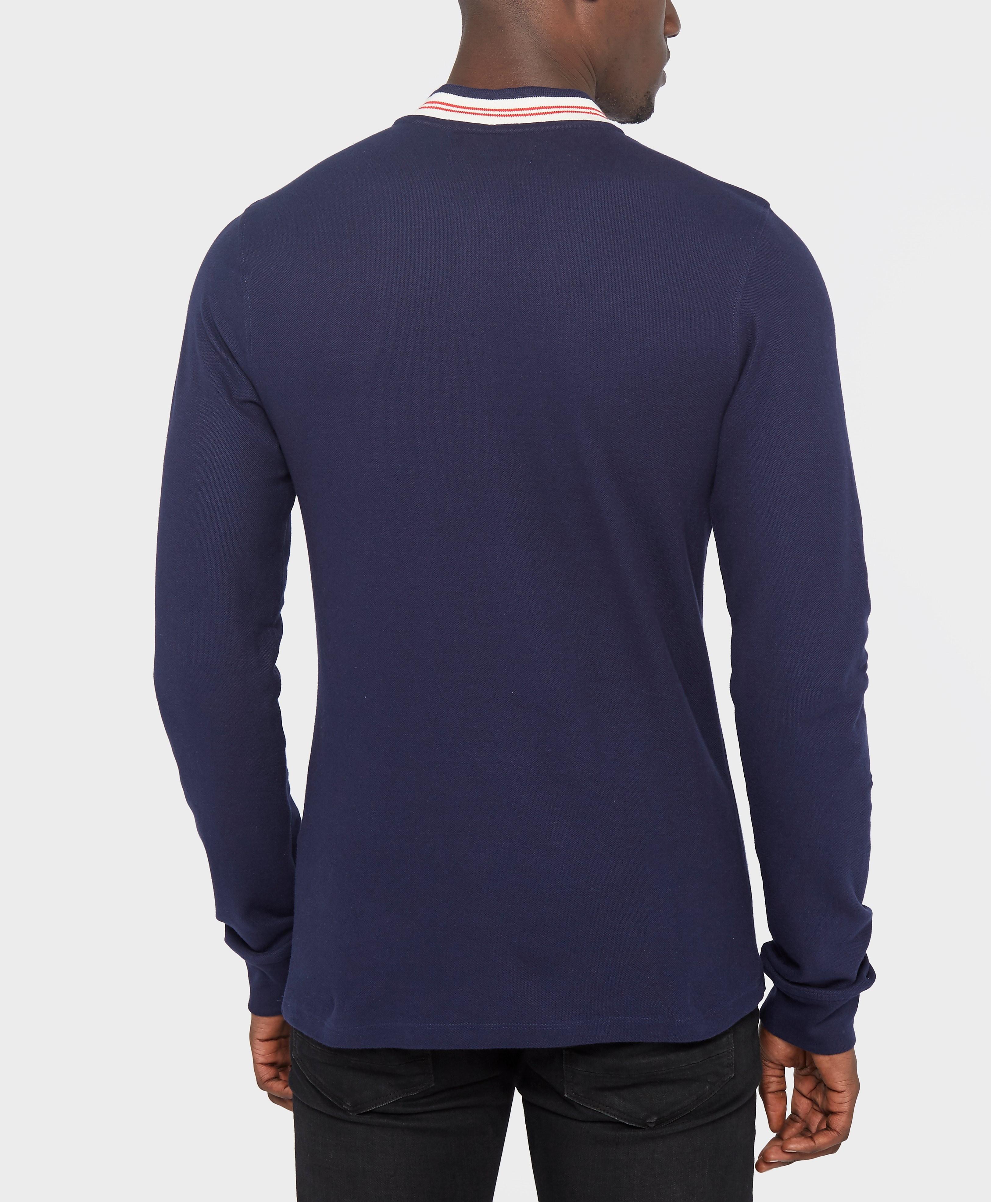 Fila Rocca Long Sleeve Bomber Collar